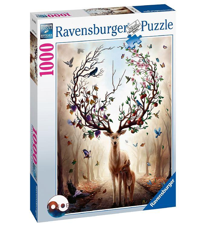 Image of Ravensburger Puslespil - 1000 Brikker - Fantasy Deer (YO793)