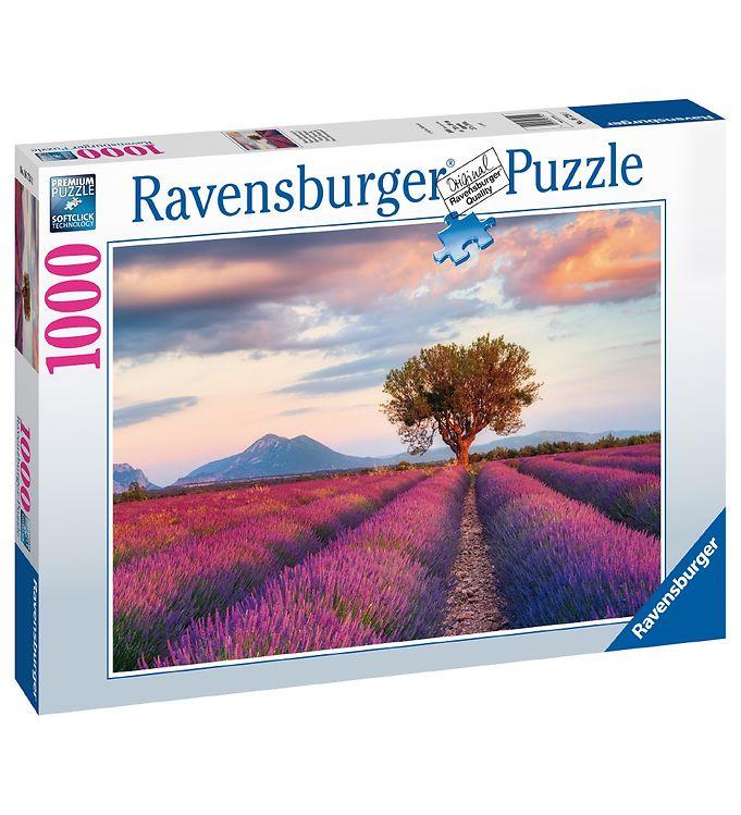Image of Ravensburger Puslespil - 1000 Brikker - Lavender Fields (YO794)