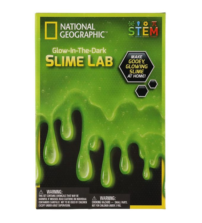 Image of National Geographic Byggesæt - Glow In The Dark Slime Lab (YO822)