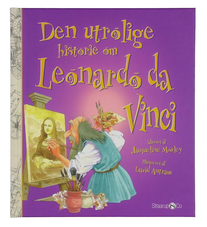 Image of Straarup & Co Bog - Den Utrolige Historie om Leonardo da Vinci (YO850)