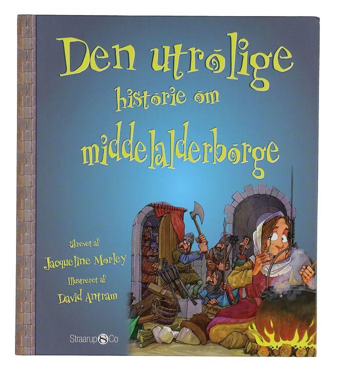 Image of Straarup & Co Bog - Den Utrolige Historie om Middelalderborge (YO856)