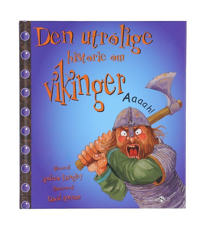 Image of Straarup & Co Bog - Den Utrolige Historie om Vikinger (YO866)