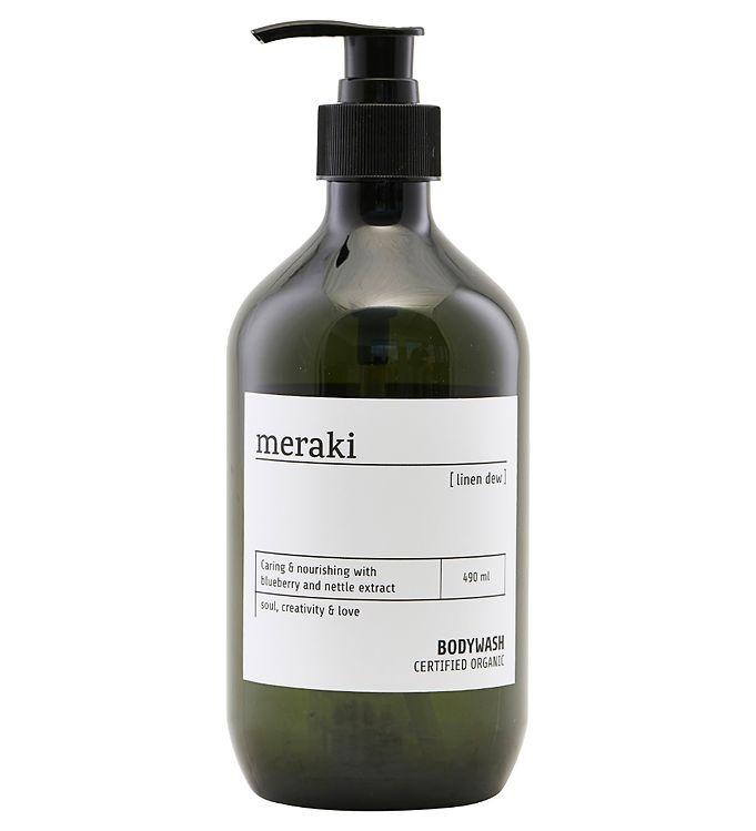 Image of Meraki Body Wash - 490 ml - Linen Dew (YO909)