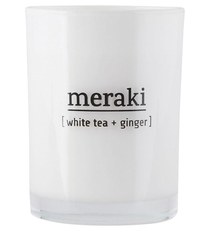 Image of Meraki Duftlys - 220 g - White Tea & Ginger (YO914)