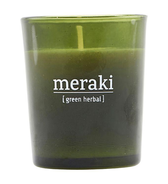 Image of Meraki Duftlys - 60 g - Green Herbal (YO920)