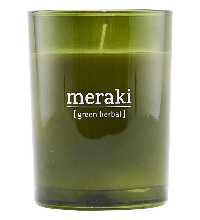 Image of Meraki Duftlys - 220 g - Green Herbal (YO930)
