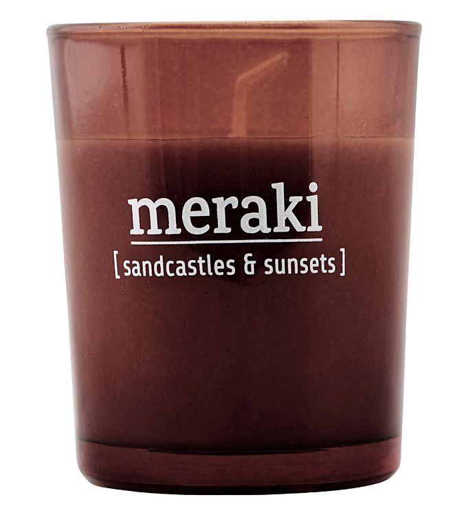 Image of Meraki Duftlys - 60 g - Sandcastles & Sunsets (YO955)