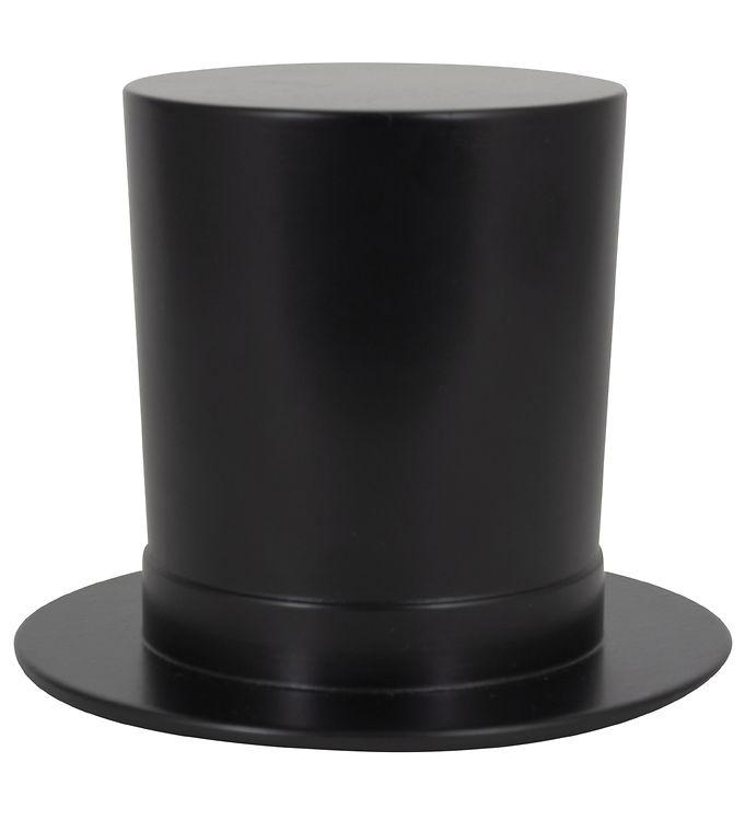 Image of H.C. Andersen Træfigur - 12x10 cm - Den Høje Hat (YO997)