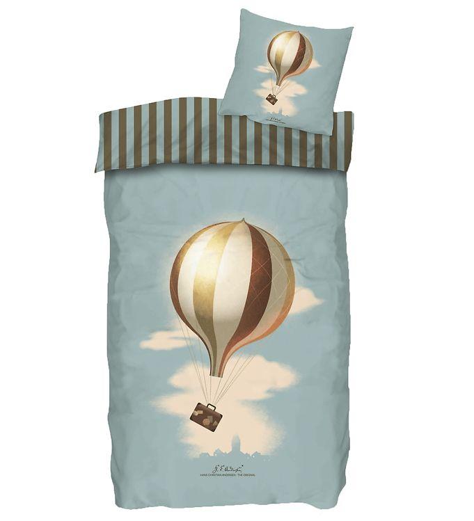 Image of H.C. Andersen Sengetøj - Luftballon - Voksen - At Rejse Er At Le (YP001)