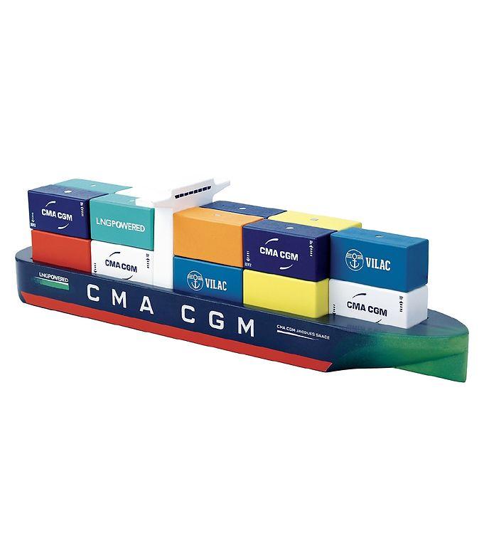 Image of Vilac Containerskib - Træ - Multifarvet (YP004)