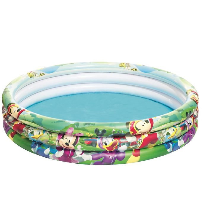 Image of Bestway Oppustelig Bassin - 122x25cm - Mickey And The Roadster (YP022)