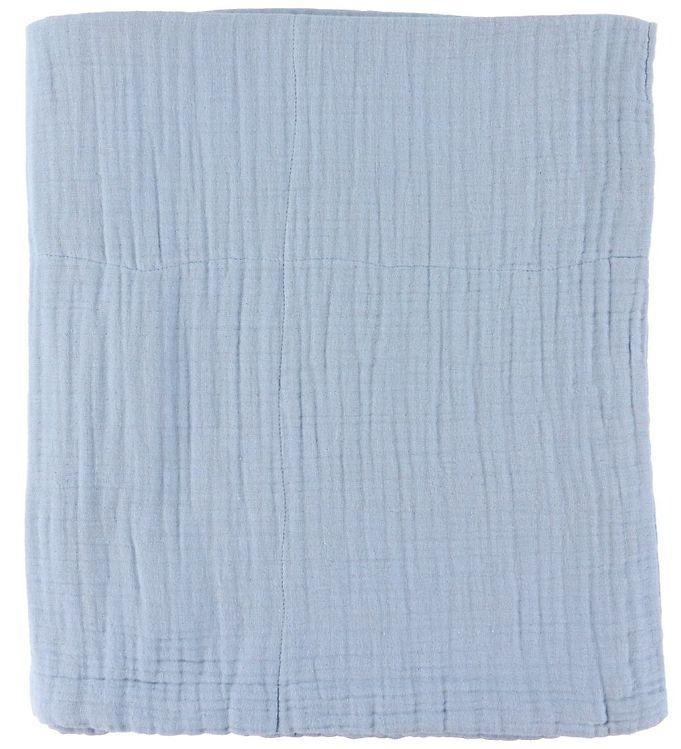 Image of Sebra Babytæppe - 85x85 cm - Powder Blue (YP200)