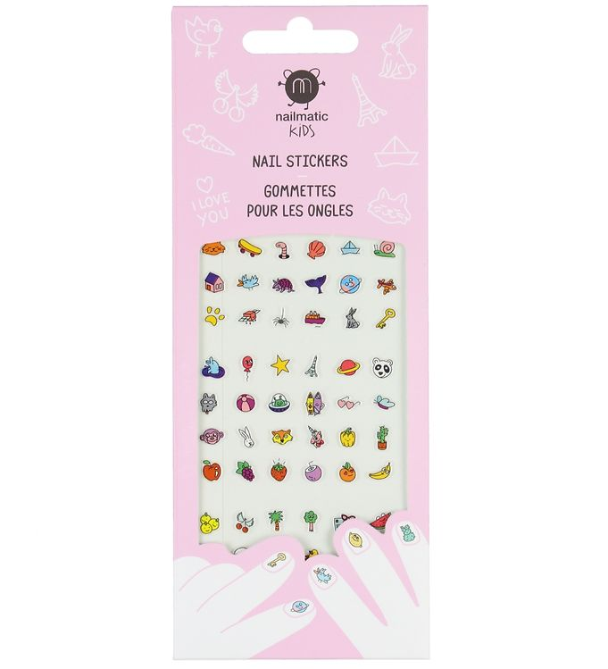 Image of Nailmatic Neglestickers - 72 stk. - Happy Nails (YP212)
