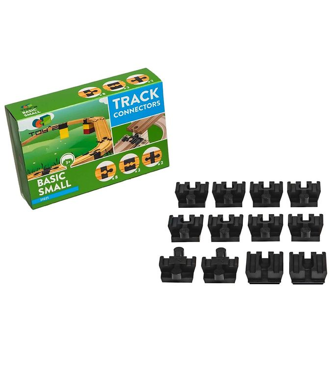 Image of Toy^2 Track Connectors - Lille - Basic Pack (YP578)