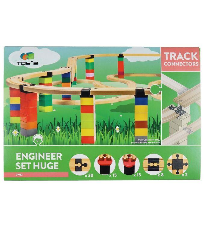 Image of Toy^2 Track Connectors - Huge - Engineer Set (YP584)