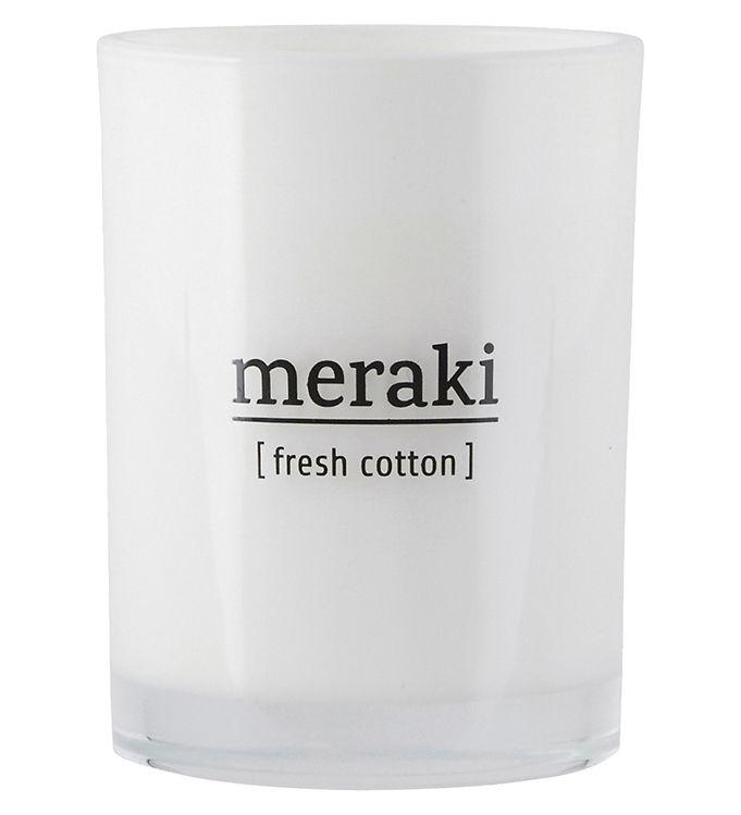 Image of Meraki Duftlys - 220 g - Fresh Cotton (YP695)