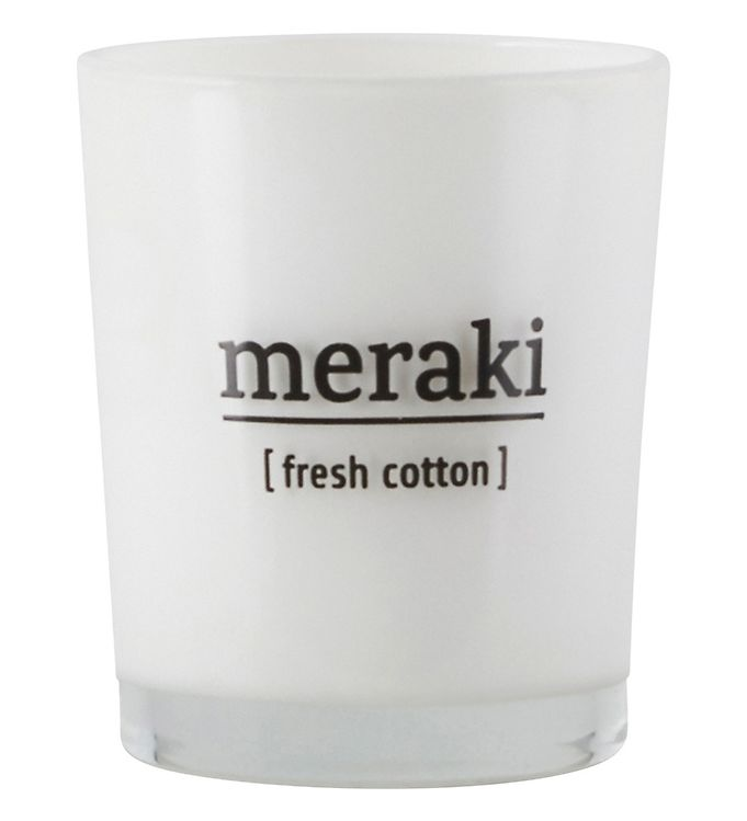 Image of Meraki Duftlys - 60 g - Fresh Cotton (YP699)
