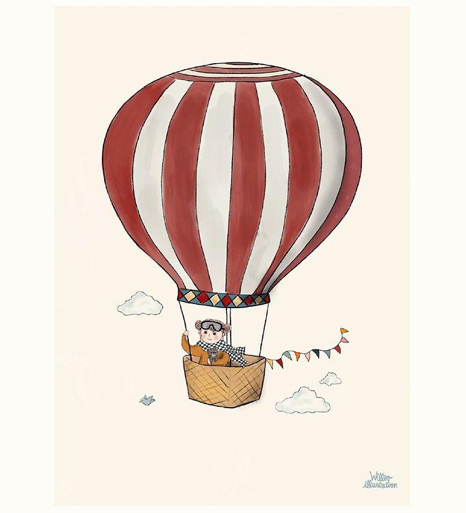 Image of Citatplakat Plakat - A3 - Beautiful Balloon (YP813)