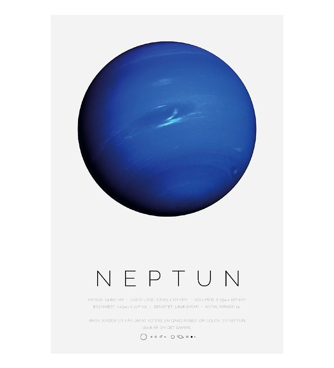 Image of Citatplakat Plakat - A3 - Neptun (YP821)
