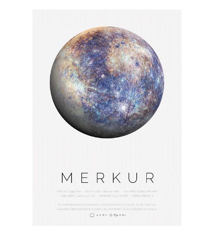 Image of Citatplakat Plakat - A3 - Merkur (YP823)