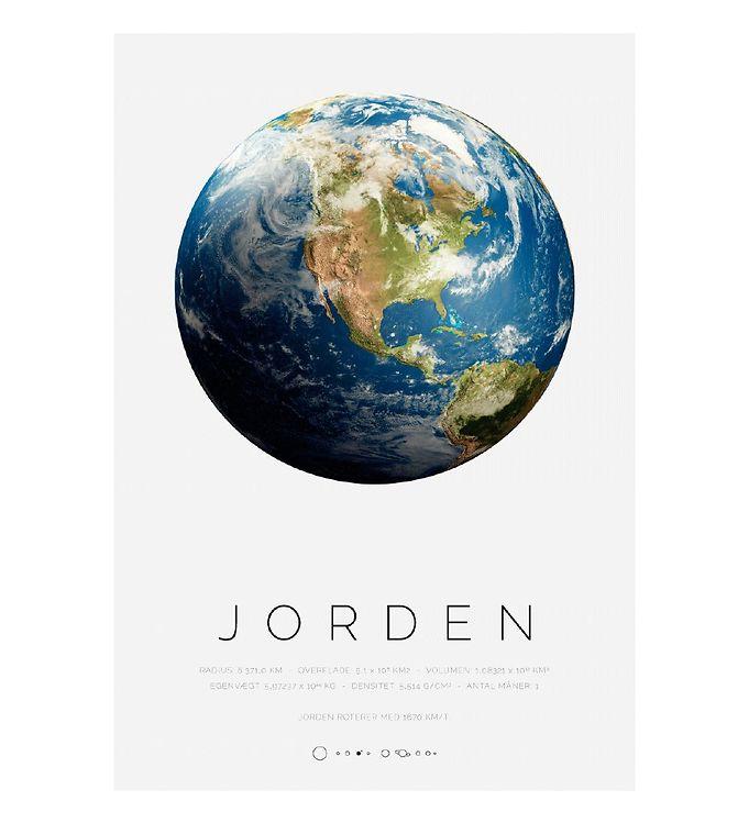 Image of Citatplakat Plakat - A3 - Jorden (YP825)