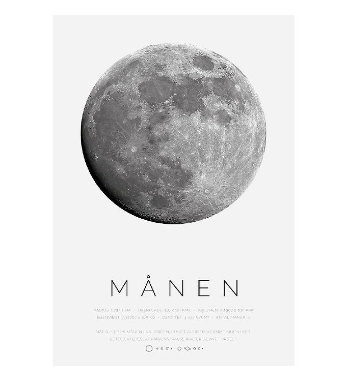 Image of Citatplakat Plakat - A3 - Månen (YP826)