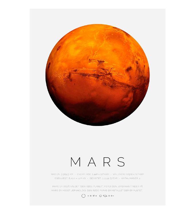 Image of Citatplakat Plakat - A3 - Mars (YP827)