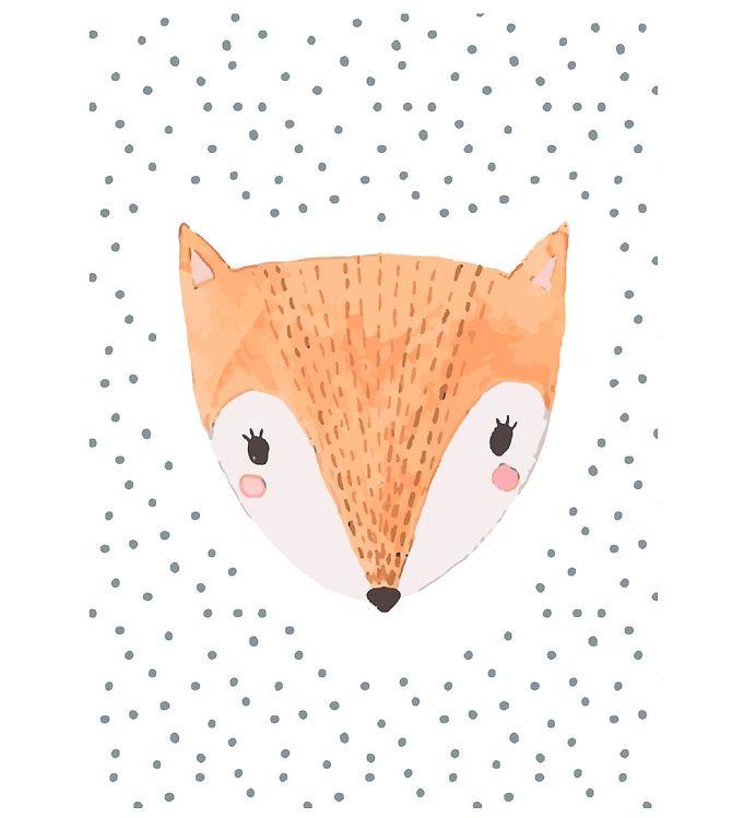 Image of Citatplakat Plakat - A3 - Childish Fox (YP837)