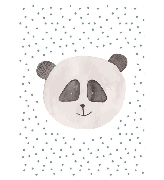 Image of Citatplakat Plakat - A3 - Childish Panda (YP838)