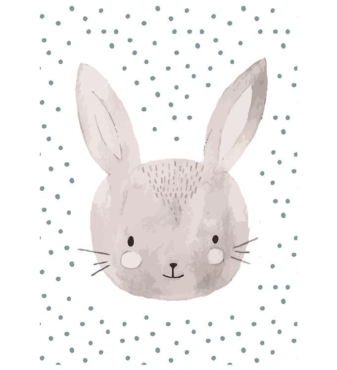 Image of Citatplakat Plakat - A3 - Childish Rabbit (YP839)