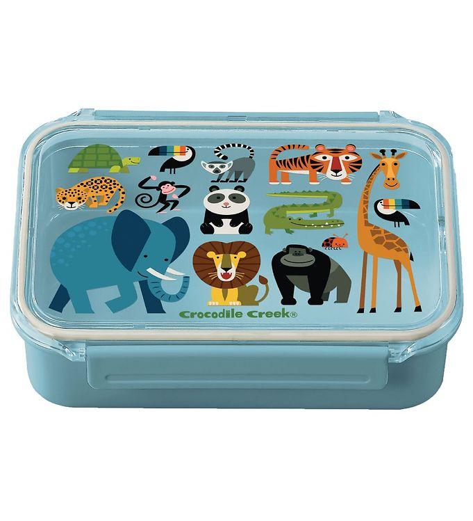 Image of Crocodile Creek Madkasse - Bento Box - Jungle Friends (YP958)