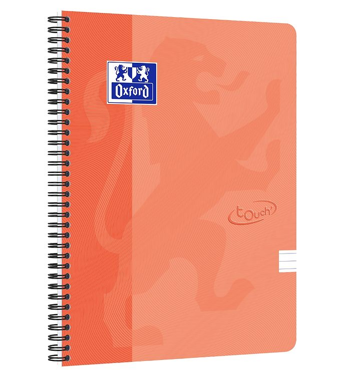 Image of Oxford Notesbog - Touch - Linieret - A4+ - Orange (YP997)