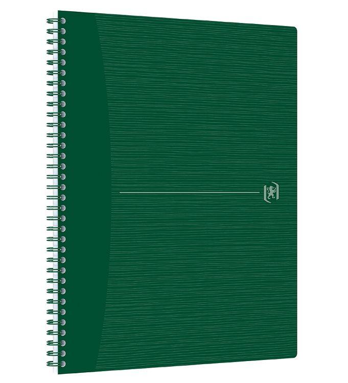Image of Oxford Notesbog - Origins - Kvadreret - A4+ - Grøn (YR001)