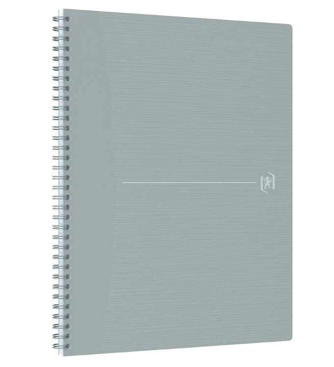 Image of Oxford Notesbog - Origins - Linieret - A4+ - Grå (YR002)