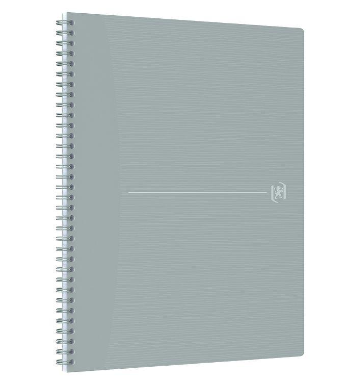 Image of Oxford Notesbog - Origins - Kvadreret - A4+ - Grå (YR009)