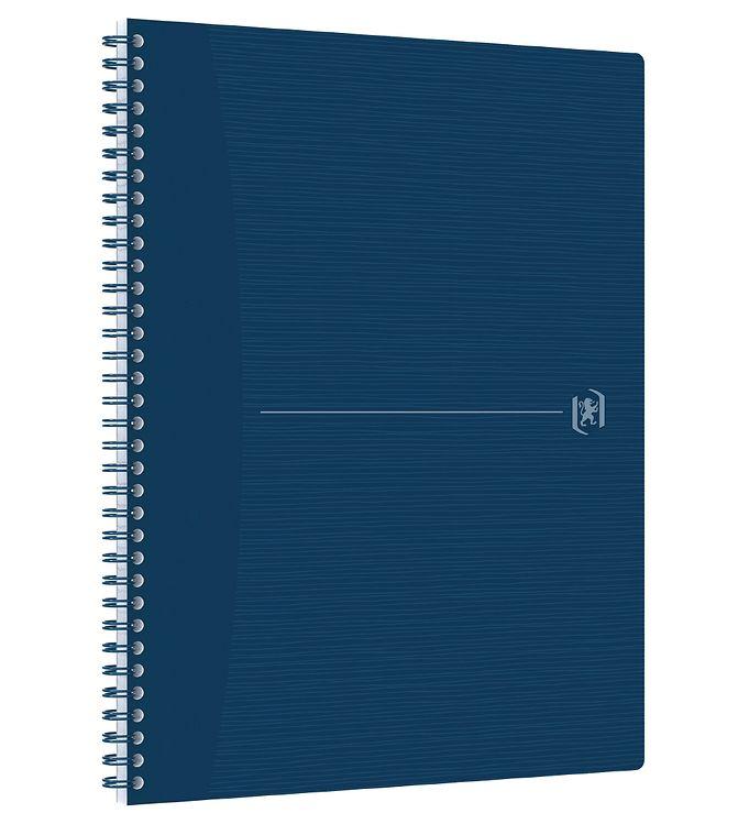 Image of Oxford Notesbog - Origins - Linieret - A4+ - Blå (YR013)