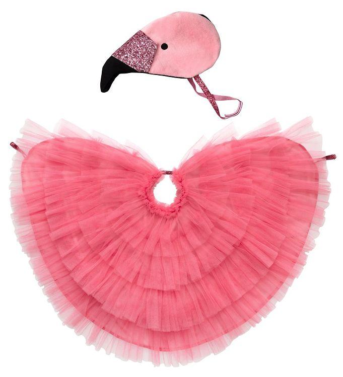 Image of Meri Meri Udklædning - Flamingokappe og Hat - Pink (YR227)