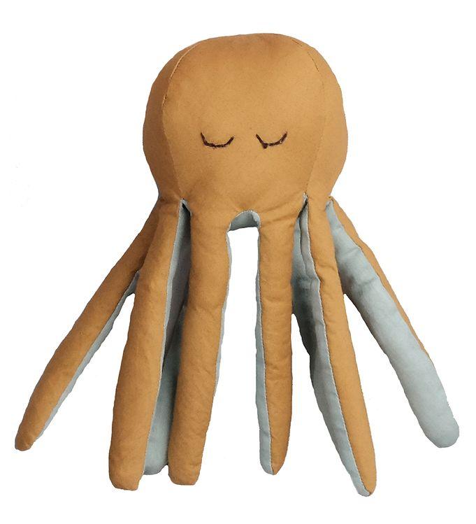 Image of Fabelab Bamse - Octopus - 10x22 cm - Ochre/Beach Grass (YR294)
