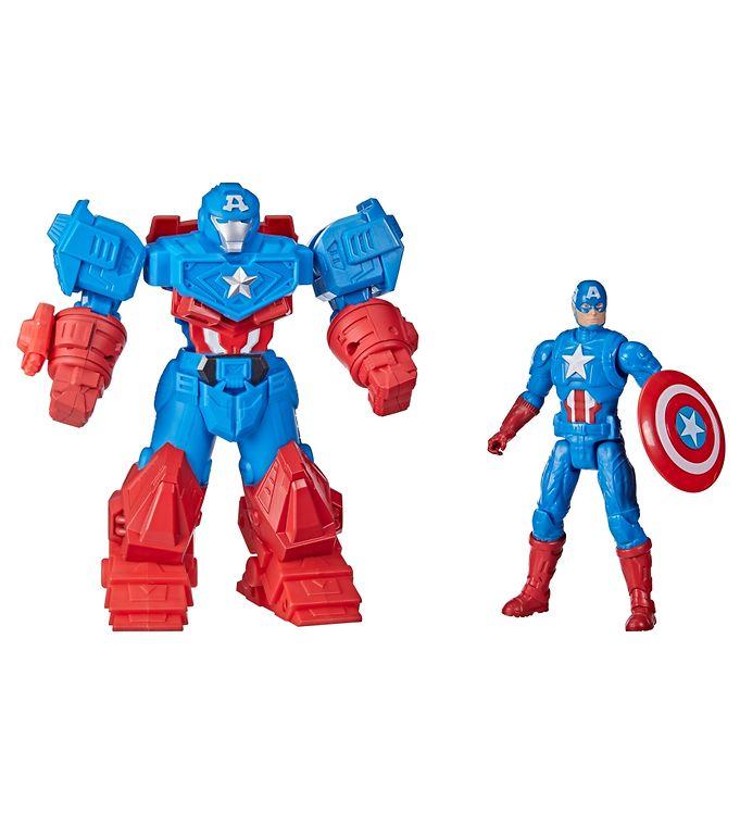 Image of Marvel Avengers Actionfigur - Captain America - 22 cm - Blå/Rød (YR335)