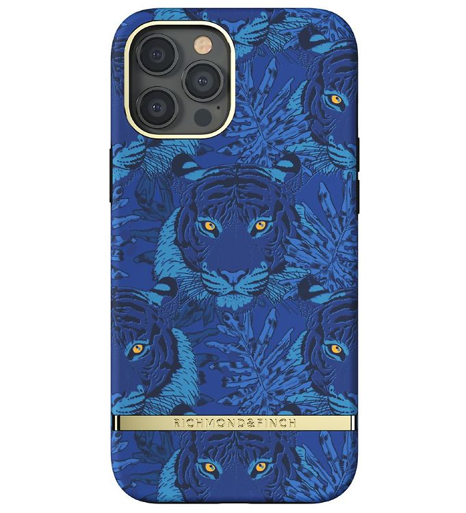 Image of Richmond & Finch Cover - iPhone 12/12 Pro - Blue Tiger (YR412)