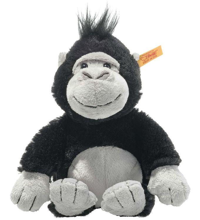 Image of Steiff Bamse - Soft Cuddly Freinds Gorilla - 20 cm - Black (YR423)