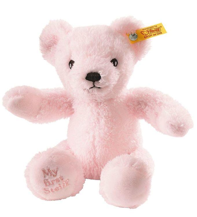 Image of Steiff Bamse - Soft Cuddly Friends - 26 cm - Rosa (YR424)