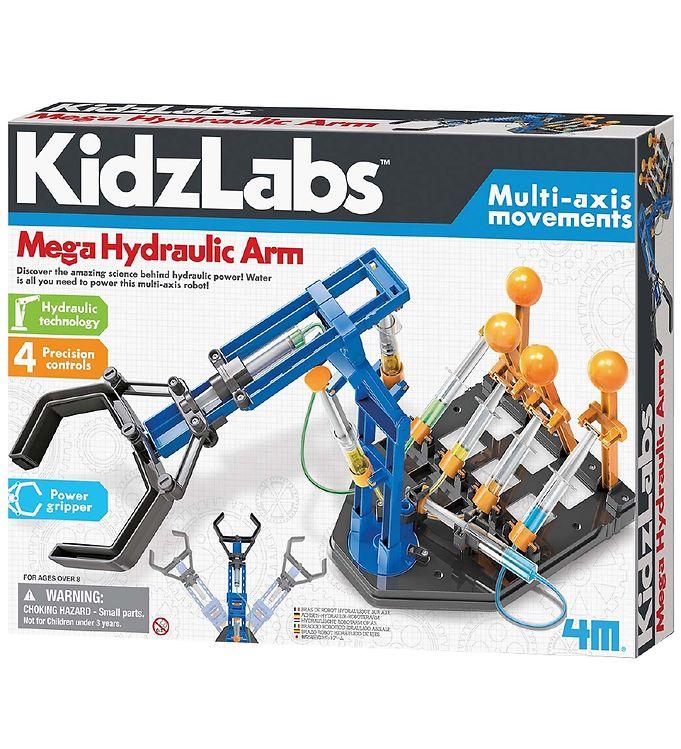 Image of 4M - KidzLabs - Mega Hydraulisk Arm (YR434)