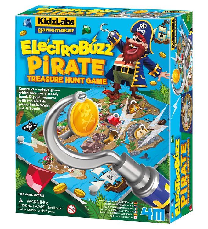 Image of 4M - KidzLabs Gamemaker - Elektro Buzz Pirat Spil (YR450)