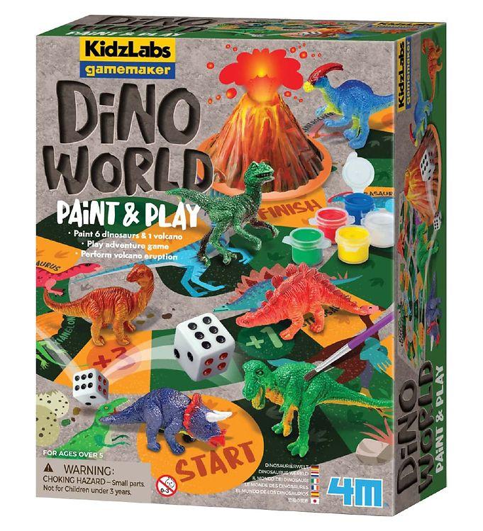 Image of 4M - KidzLabs Gamemaker - Dino Spil (YR451)