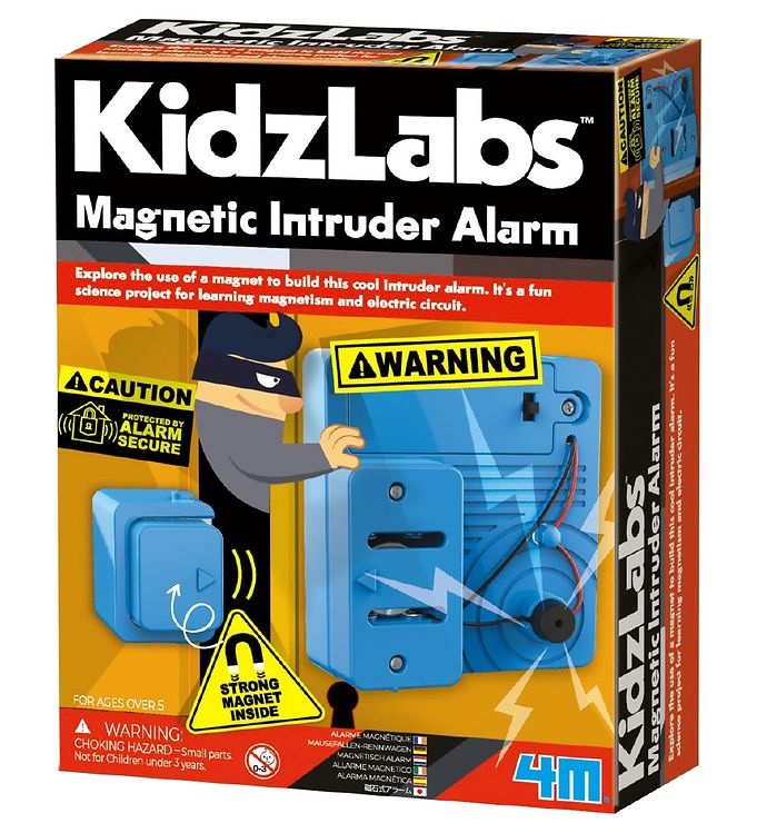 Image of 4M - KidzLabs - Magnetisk Tyverialarm (YR453)