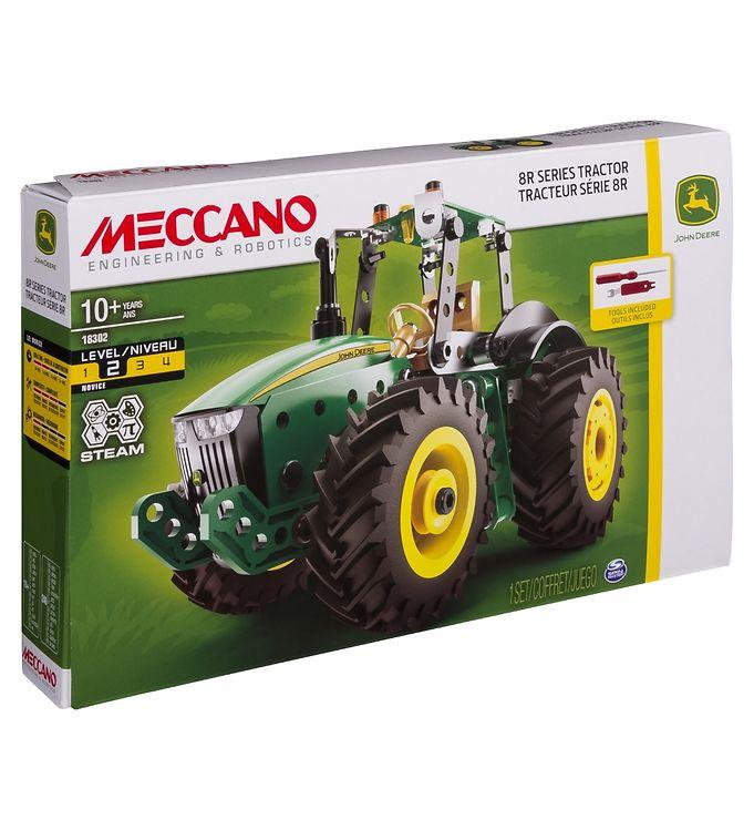 Image of Meccano Byggesæt - John Deere 8R Traktor (YR660)
