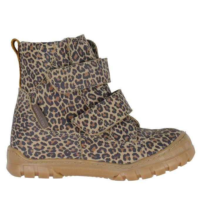 Billede af Angulus Vinterstøvler - Tex - Leopard/Mustard