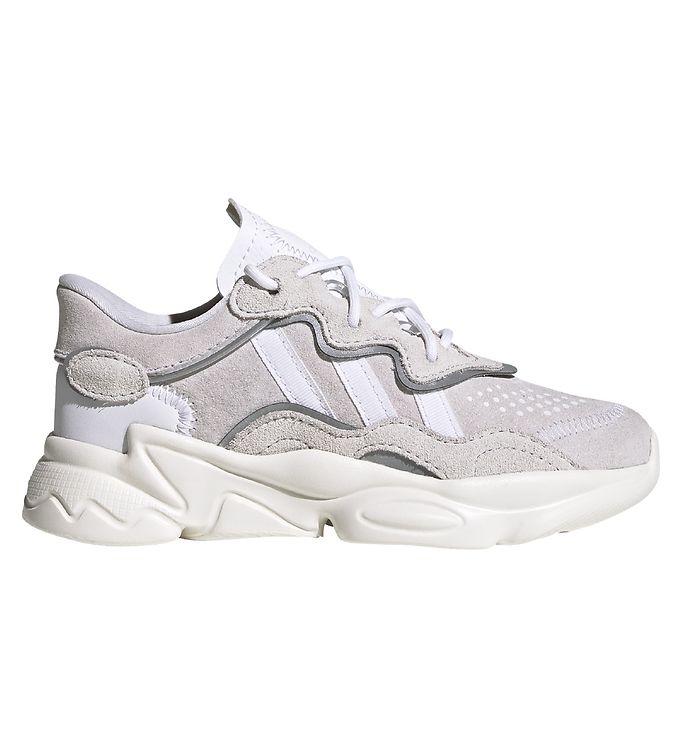 Image of adidas Originals Sko - Ozweego C - Crystal White/Cloud White/Off (ZB005)