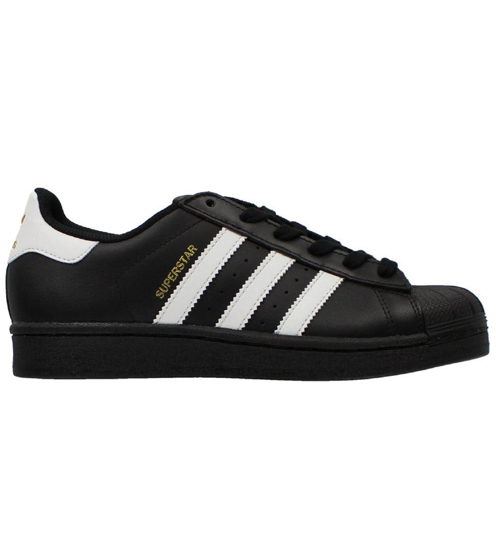 adidas Originals Sko Superstar Sort m. Hvid